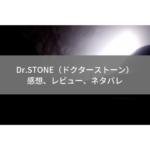 【Dr.STONE】感想・ネタバレ・レビュー
